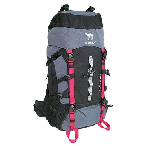 Экспедиционный рюкзак Tramp Light 60, серый, черный