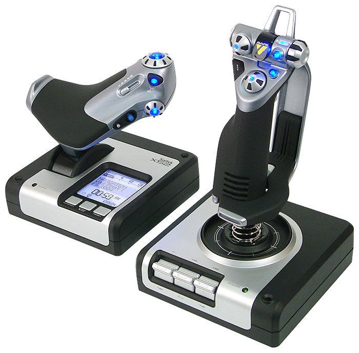 Saitek Джойстик Saitek X52 Flight Control System