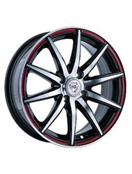 Диски R13 4x98 5,5J ET35 D58,6 NZ Wheels F-18 BKPRS - фото 1