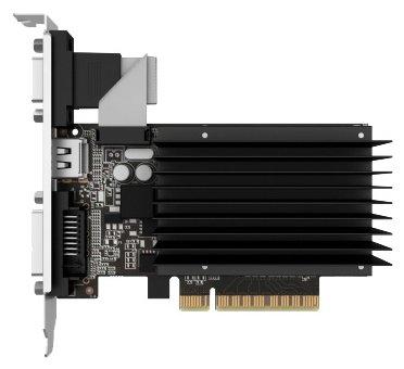 Gainward Видеокарта Gainward GeForce GT 730 902Mhz PCI-E 2.0 2048Mb 1600Mhz 64 bit DVI HDMI HDCP Silent