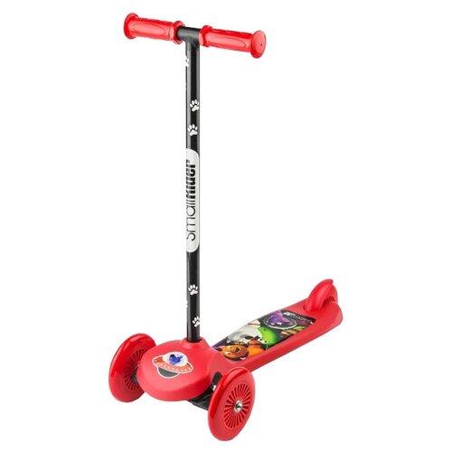 Кикборд Small Rider Cosmic Zoo Scooter красный