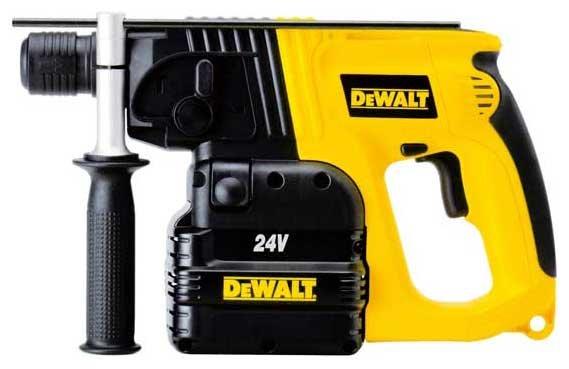 Перфоратор аккумуляторный DeWALT DW005K2C 24 В (2 Дж)