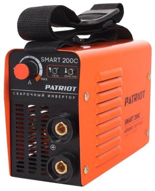 Сварочный аппарат PATRIOT SMART 200C MMA (MMA)