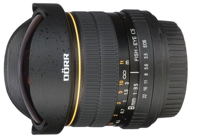Doerr 8mm f/3.5 Canon EF-S