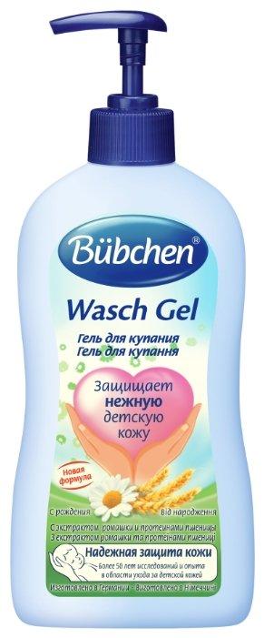 Bubchen Гель для купания младенцев (с дозатором) 400 мл