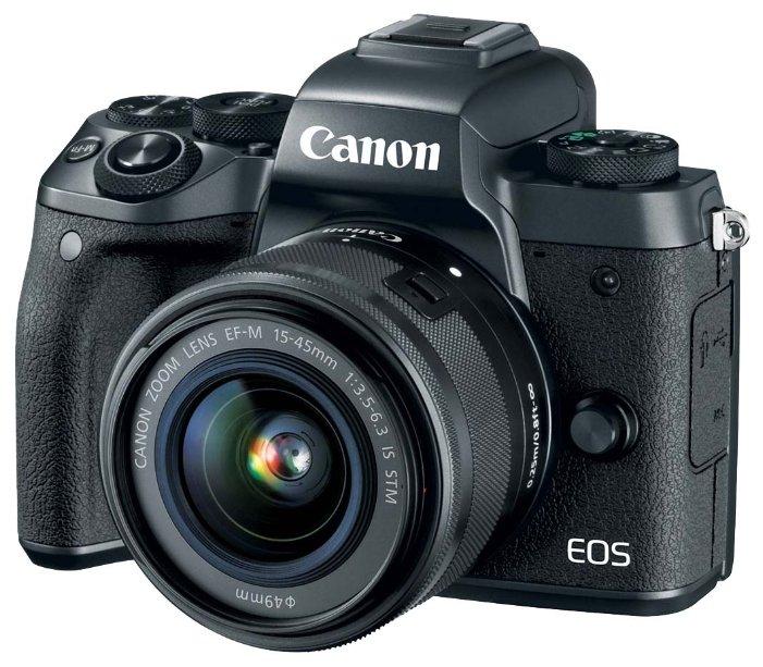 Canon Фотоаппарат со сменной оптикой Canon EOS M5 Kit