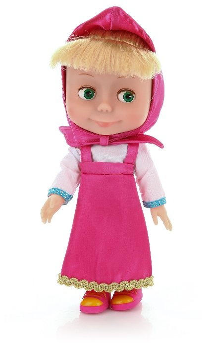 Интерактивная кукла Карапуз Маша и Медведь 25 см 83033