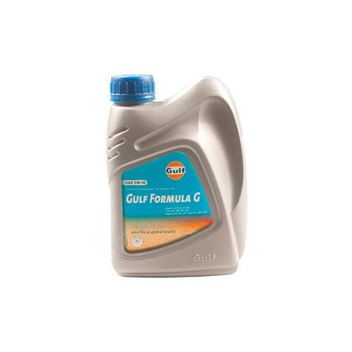 Моторное масло Gulf Formula G 5W-40 1 л моторное масло gulf multi g 15w 40 1 л