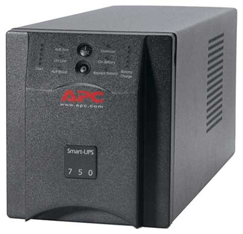 APC by Schneider Electric Smart-UPS 750VA/500W USB & Serial 230V