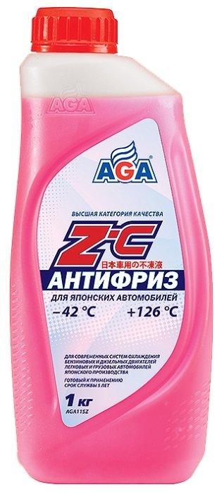 Антифриз AGA Z-C (красный)
