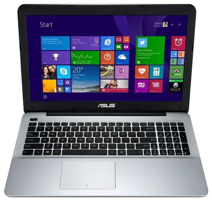 "Ноутбук ASUS X555LJ Intel Core i3 4005U 1700 MHz/15.6""/1366x768/4.0Gb/1000Gb/DVD-RW/NVIDIA GeForce 920M/Wi-Fi/Bluetooth/DOS"