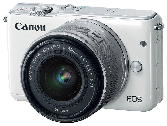 Canon Фотоаппарат со сменной оптикой Canon EOS M10 Kit