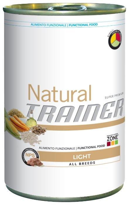 Корм для собак TRAINER Natural Adult Light All size canned (0.4 кг) 1 шт.