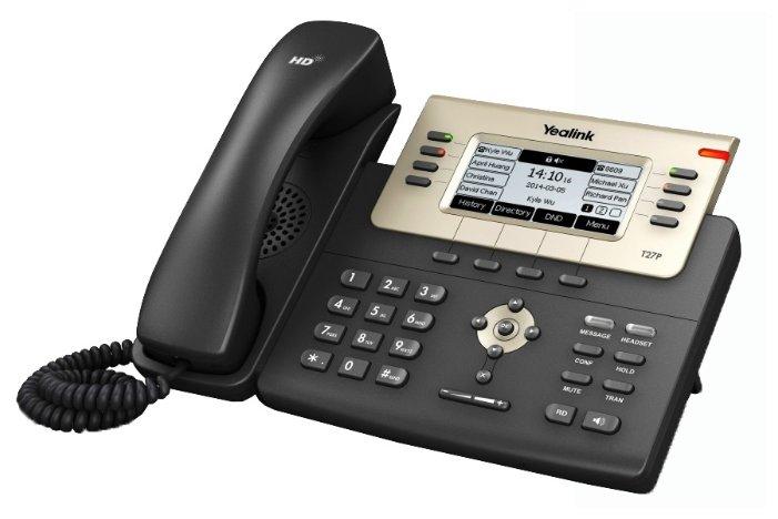 VoIP-телефон Yealink SIP-T27P