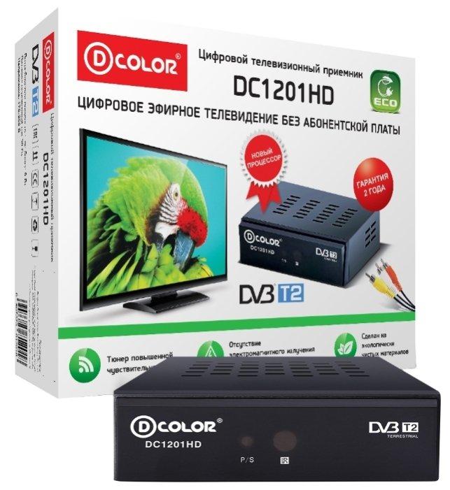 D-COLOR TV-тюнер D-COLOR DC1201HD