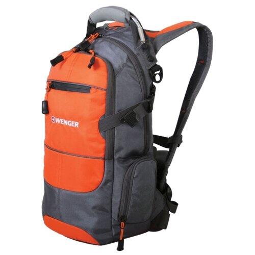Рюкзак WENGER Narrow Hiking Pack 22 orange/greyРюкзаки<br>