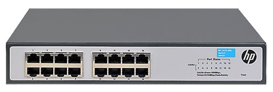 HP Коммутатор HP 1420-16G (JH016A)