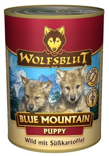 Корм для собак Wolfsblut Консервы Blue Mountain Puppy