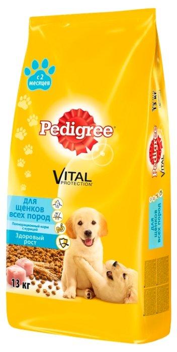 Pedigree (13 кг) Для щенков всех пород с 2 месяцев полнорационный корм с курицей