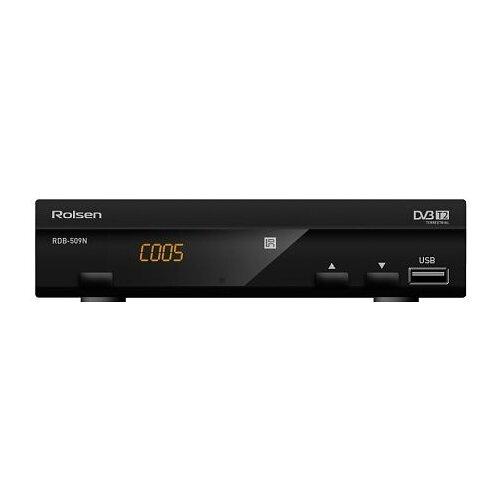 цена на TV-тюнер Rolsen RDB-509N черный