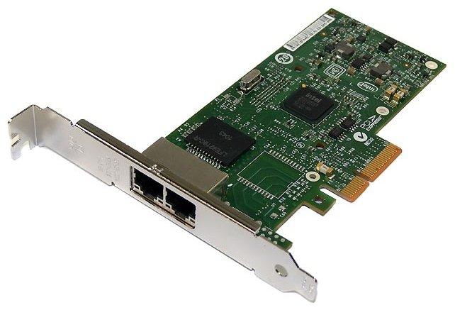 Сетевой адаптер Intel | I340-T2 | 10/100/1000 Mbit/sec / PCI-E