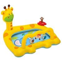 Надувной бассейн Intex Веселый жираф, 112х91х72см, от 1 до 3 лет, арт. 57105, Интекс