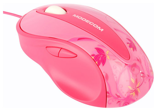 Мышь Modecom MC-610L Pink-Black USB