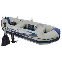 Лодка надувная Intex Mariner 3 (Set), 297х127х46см, арт. 68373NP, Интекс