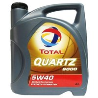 TOTAL Моторное масло  Quartz 9000 5W40 4 л
