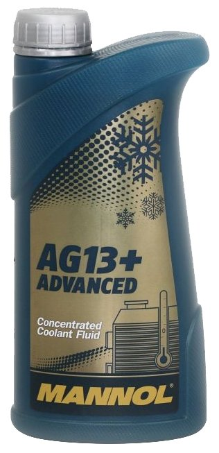 Антифриз Mannol Advanced Antifreeze AG13+