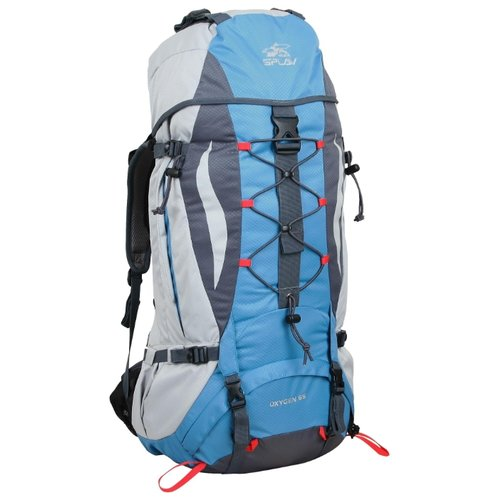 Трекинговый рюкзак Сплав Oxygen 65, серый, голубой