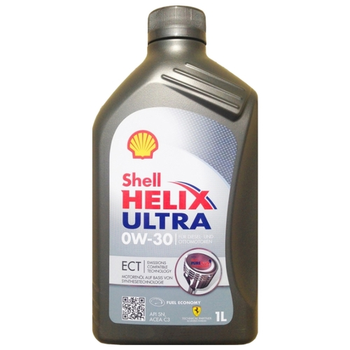 Моторное масло SHELL Helix Ultra ECT 0W-30 1 л Моторные масла