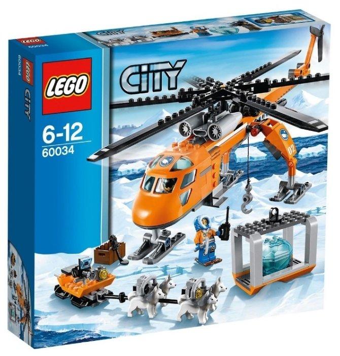 Конструктор LEGO City 60034 Арктический вертолёт