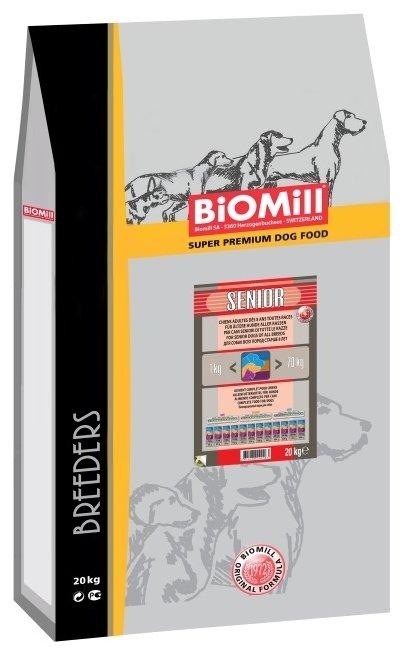 Корм для собак Biomill Breeders Senior