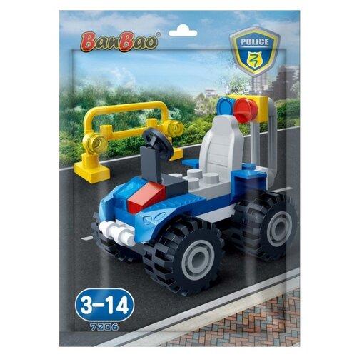 Купить Конструктор BanBao Полиция 7206, Конструкторы