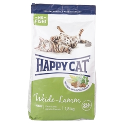 Корм для кошек Happy Cat Supreme Weide-Lamm