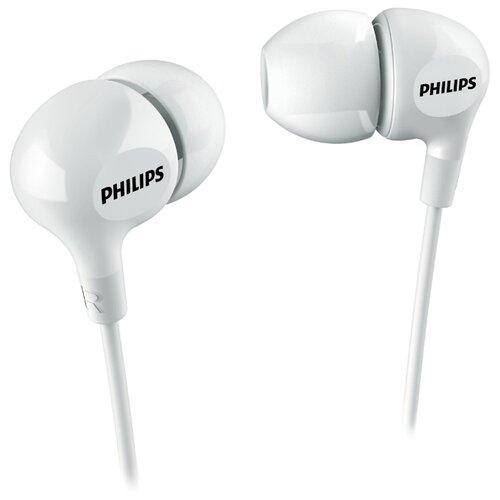 Наушники Philips SHE3550 белый philips she3550 розовый