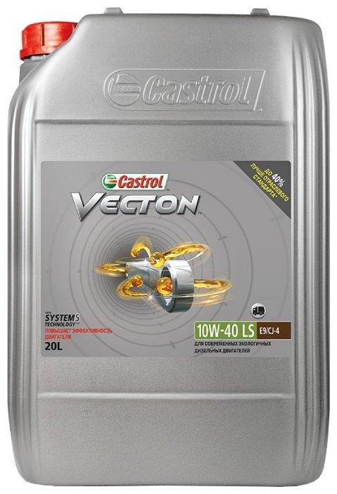 Моторное масло Castrol Vecton 10W-40 LS 20 л