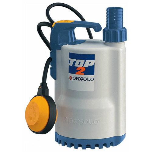 Фото - Дренажный насос для чистой воды Pedrollo TOP 2 LA (370 Вт) дренажный насос для чистой воды leo lks 1004p 1000 вт