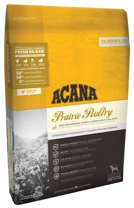 Корм для собак Acana Prairie Poultry