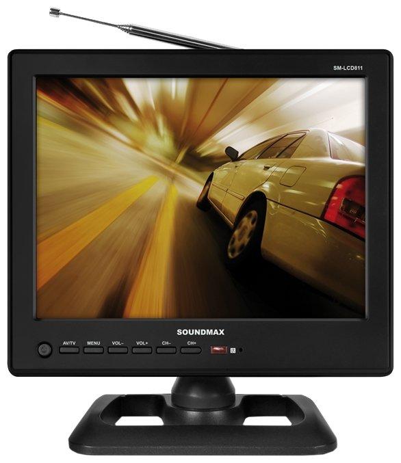 Автомобильный телевизор SoundMAX SM-LCD811