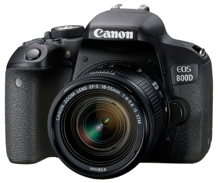 Canon Зеркальный фотоаппарат Canon EOS 800D Kit