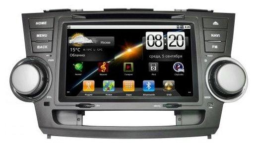"Автомагнитола CarSys Android Toyota Highlander 8"""