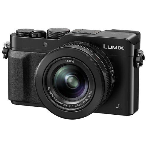 Фото - Фотоаппарат Panasonic Lumix DMC-LX100 черный аккумулятор panasonic dmw blj31e для lumix s1 s1r