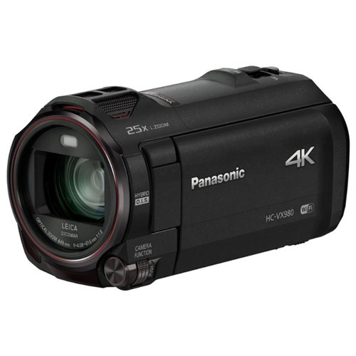 Фото - Видеокамера Panasonic HC-VX980 черный видеокамера