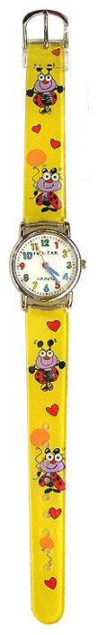 Наручные часы Тик-Так H101-1 Желтые божьи коровки