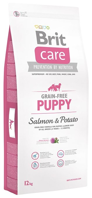 Корм для собак Brit Care Puppy Salmon & Potato