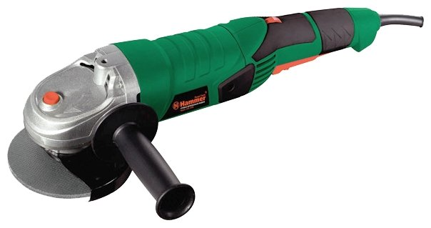 УШМ Hammer USM 1250 B, 1200 Вт, 125 мм