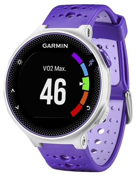 Умные часы Garmin Forerunner 230 Purple-White HRM3 010-03717-47