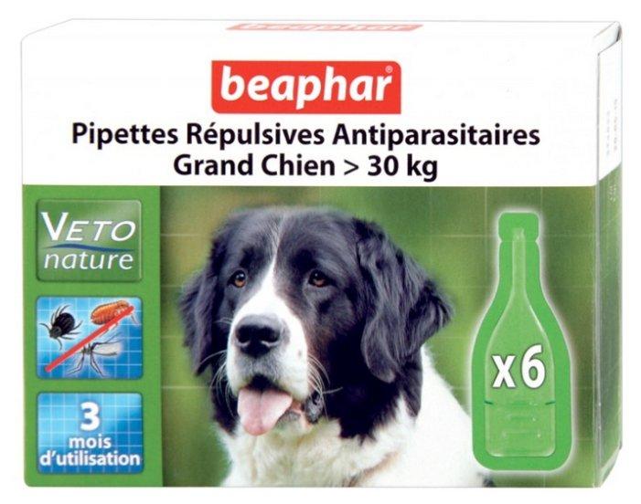 Beaphar Капли Био от блох, клещей и комаров для собак крупных пород